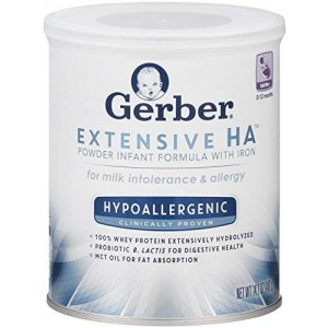 Gerber Graduates Gerber Good Start Gerber Extensive Hatm with Probiotic B. Lactis Hypoallergenic Infant Formula with Iron Powder, 14.1 Ounce