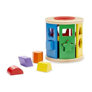 Melissa & Doug Melissa and Doug Match and Roll Shape Sorter