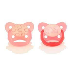 Dr. Brown's Glow in the Dark Pacifier, Stage 1/Pink
