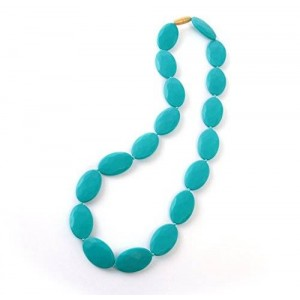 iNeibo Baby Silicone Teething and Nursing Necklaces - Safe BPA Free Teether For Mom Relief Pain - Soft and Chewable