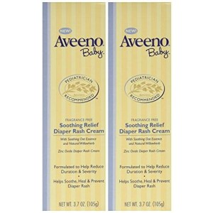 Aveeno Baby Diaper Rash Cream, 2 Count