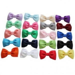 Lolitarcrafts Baby Girl None Slip Bow Tie Hair Clip Mixed 20 Color