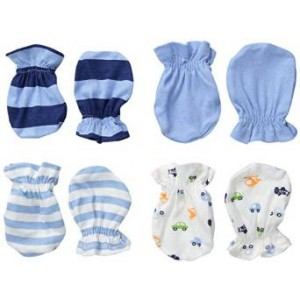 Gerber Baby-Boys Newborn 4 Pack Mittens Sports