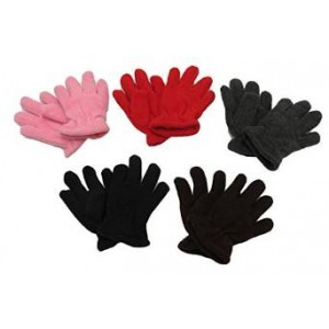 Gilbin Toddler Soft And Warm Fleece Lined Gloves 6-Pack