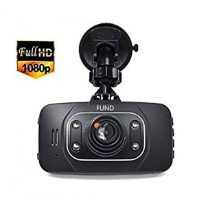 Fund 1080p Dash Cam Car DVR 120 Degree Car Camera Video Recorder with Night Vision and Motion Detection / G-sensor