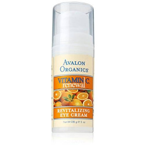 Avalon Organics Vitamin C Revitalizing Eye Creme, 1 Ounce Bottle