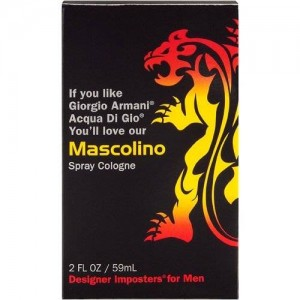 Designer Imposter Mascolino 2oz Fragrance Spray Cologne