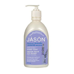 Jason Natural Jason Pure Natural Hand Soap, Calming Lavender, 16 Ounce