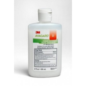 3m Avagard Instant Hand Antiseptic With Moisturizers 3 fluid oz./Each