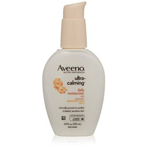 Aveeno Active Naturals Ultra Calming Daily Moisturizer, SPF 15, 4 Ounce
