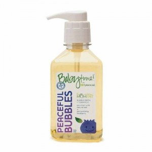 Babytime Episencial Babytime by Episencial Peaceful Bubbles - Organic Cleansing Bubble Bath and Shampoo, 22.6 Ounce