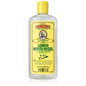Thayer's Thayers Witch Hazel Astringent with Aloe Vera Formula, Lemon, 12 Fluid Ounce
