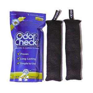 Odor Check Natural Air Deodorizer Purifier Odor and Moisture Control for Shoes, Bags, Lockers, Luggage and Sporting Equipment