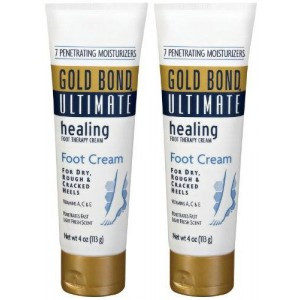 Gold Bond Ultimate Healing Foot Therapy Cream, 4 oz, 2 pk