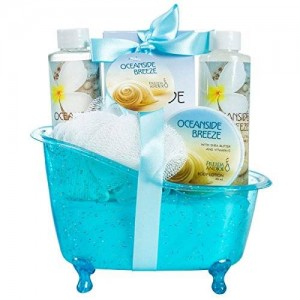 Freida Joe Oceanside Breeze Tub Spa Bath Gift Set