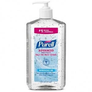 Purell 3023-12-EC Advanced Hand Sanitizer, 20 oz. Bottles (Pack of 2)
