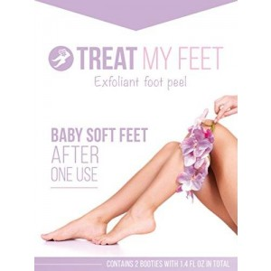 Treat My Feet A Softer Baby Foot Peel and Mask for Exfoliating Feet