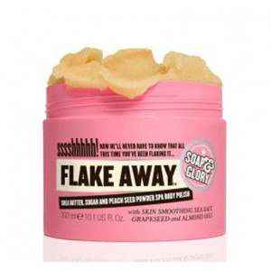 Soap & Glory Soap And Glory Flake Away Body Polish With Shea Butter and Sea Salt 300ml