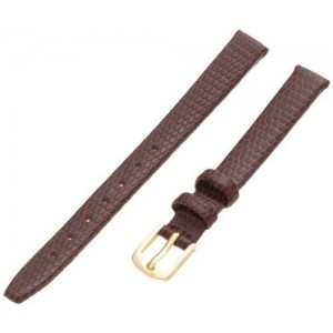 Hadley-Roma Women's LSL706RB 090 Genuine Leather Strap Watchband