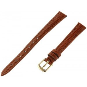 Hadley-Roma Women's LSL716RB 100 Genuine Leather Strap Watchband
