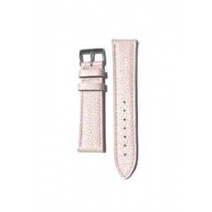 16mm Pink Pearl Finish Sport Calfskin with Quick-Release Pins for Michele