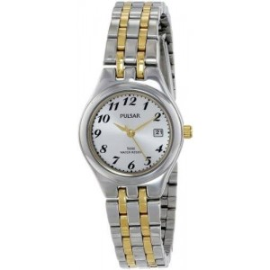 Pulsar Women's PH7237X Analog Display Japanese Quartz Two Tone Watch
