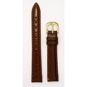 Ladies Genuine Italian Leather Watchband Tan 8mm Watch Band - by JP Leatherworks