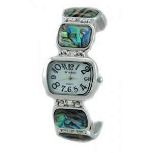 New Abalone Inlay Fashion Bracelet Watch