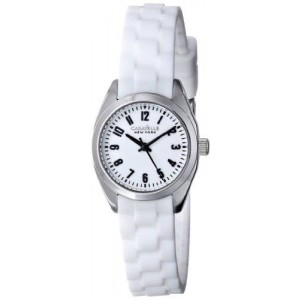 Caravelle New York by Bulova Women's 43L176 Watch with White Rubber Band
