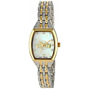 Game Time Women's MLB-WCL-SF World Class Two-Tone Stones Analog Display Japanese Quartz Silver Watch