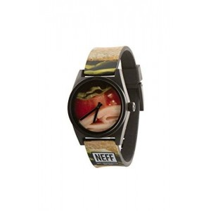 Neff Unisex NF0208CLUB Daily Wild Analog Display Japanese Quartz Multi-Color Watch