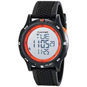 Freestyle Unisex 10017007 Navigator Digital Display Japanese Quartz Black Watch
