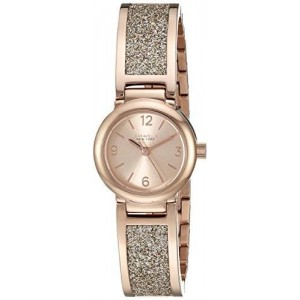 Caravelle New York Women's 44L165 Analog Display Analog Quartz Rose Gold Watch