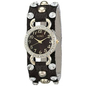 XOXO Women's XO3392 Analog Display Analog Quartz Brown Watch