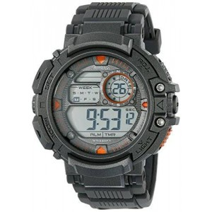 Armitron Sport Men's 40/8346BLK Digital Watch with Resin Band