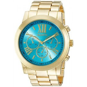 Valletta Women's FMDCT525A Analog Display Quartz Gold Watch