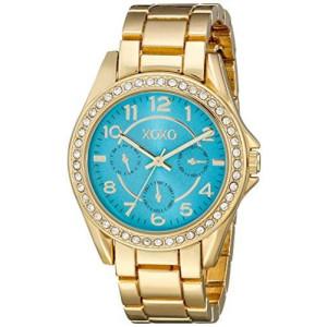 XOXO Women's XO180 Analog Display Analog Quartz Gold Watch