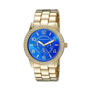 Vernier Women's VNR11194YG Analog Display Japanese Quartz Gold Watch
