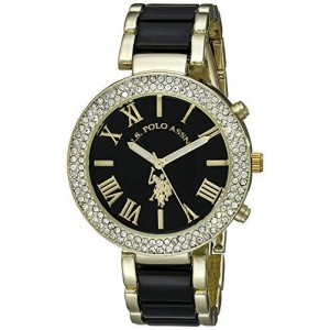 U.S. Polo Assn. Women's USC40061 Analog Display Analog Quartz Two Tone Watch