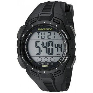 Timex Men's TW5K94800M6 Marathon Digital Display Quartz Black Watch