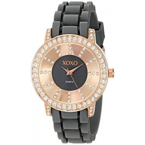 XOXO Women's XO8087 Analog Display Japanese Quartz Grey Watch