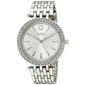 XOXO Women's XO263 Analog Display Analog Quartz Silver Watch