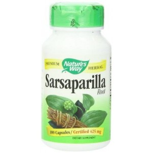 Nature's Way Sarsaparilla Root Capsules 425 mg, 100-Count