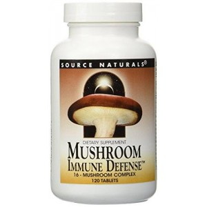 Source Naturals - Mushroom Immune Defense, 120 tablets