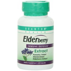 Quantum Elderberry Capsule, 60-Count