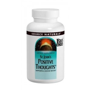 Source Naturals St. Johns Positive Thoughts, 45 Tablets