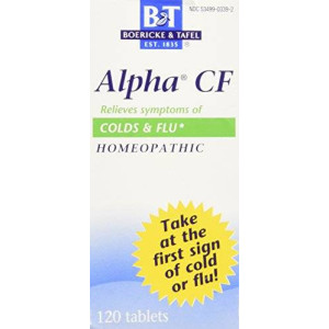 Boericke & Tafel Boericke and Tafel - Alpha Cf Colds, 120 tablets