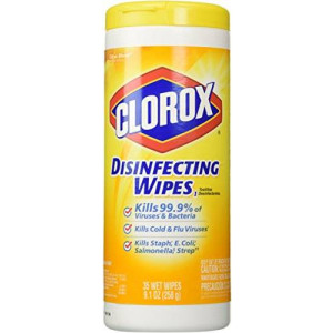Clorox Disinfecting Wipes, Citrus Blend, 35 Count Canister