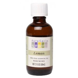 Aura Cacia Essential Oil, Renewing Lemon, 2 fluid ounce