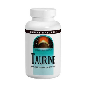 Source Naturals Taurine 1000mg, 240 Capsules